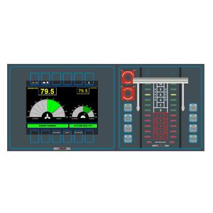 BMS Bridge Control, Lever & Telegraph Operator Panel