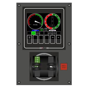 HPC Operator Panel as installed on bridge wing
