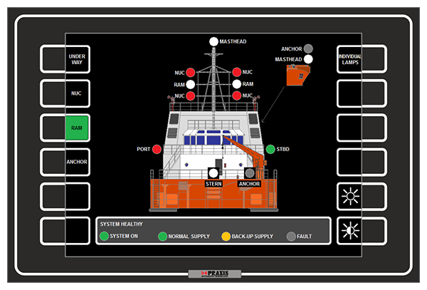 Navigation Light Control Praxis Automation Technology B V